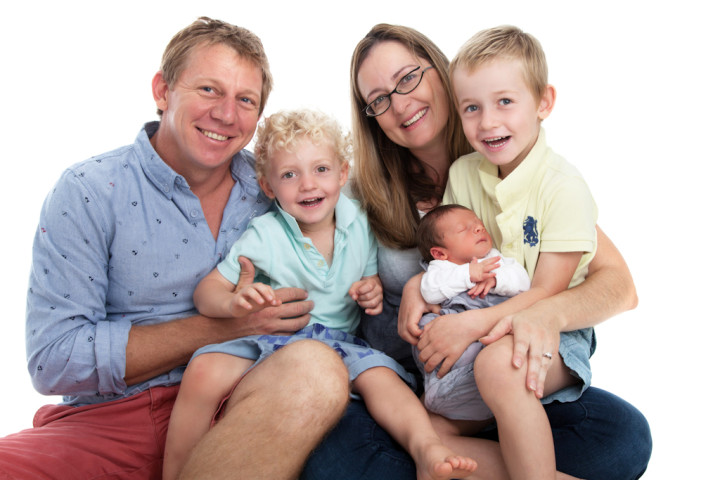 5 tips to taking a family portrait